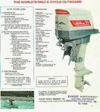 Homelite outboard motor service repair manual 55 4 stroke