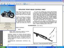 "Harley Servi car Motorcycle parts manual 1951 - 1957 WL 46 - 52 OHV 74"" 61"""