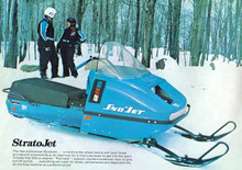 1967 68 69   sno jet   snowmobile parts  manual  all models