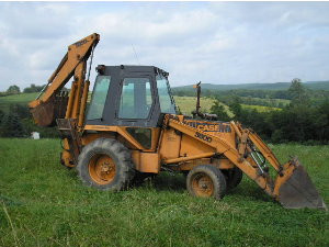 Case 580E 580 E loader backhoe tractor service manual