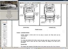 Cessna 335 maintenance service manual set n engine D2522-4-13