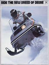 John Deere  snowmobile service repair  manual  1982 trailfire