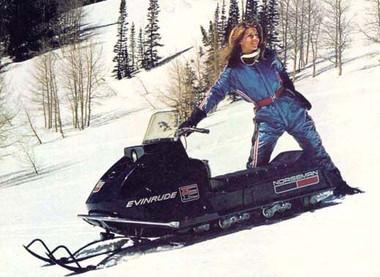 Evinrude Bobcat 25 n 32 HP omc service snowmobile service manual 1971