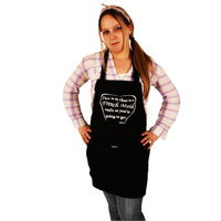 Grimm French Maid Outfit Close As You're Going To Get Adjustable Apron Front Pocket