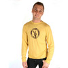 Life is Good Taxi Cab Yellow Peace Out Hand Sign Long Sleeve Cool T-Shirt Tee Top