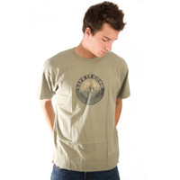 Life is Good Mesa Verde Green Mountains Good Karma Short Sleeve Mens T Shirt Organic Cotton Tee Outdoors Top