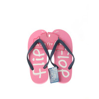 Be As You Are Pink Ladies Flip Flops Flip Flop Periwinkle Blue Thong Sandals Women's Beach Shoes