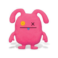 Uglydoll OX Pink Uglyverse Limited Edition 2009 90201 Soft Plush Stuffed Toy Doll