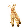 "Douglas Cuddle Toy 11"" Georgia Giraffe RARE Brown Fuzzy Furry Ultra Soft Squishy Plush Stuffed Cuddly Zoo Animal 1946"