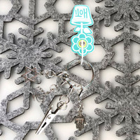 HOTI Handmade Hanukah Happy Hanukkah Chanukah Menorah Star of David Hamsa Hand Chai Jewish Holiday Keyfinder Keychain Roach Clip Key Chain Antique Silver Pewter Metal Charm Ladies Womens Mens Unisex Charms Charming Collection Made in Canada Hand Crafted Made in Toronto Made in Ontario Lobster Claw Clasps Clip 420 Cannabis Marijuana 4/20 Clip-It Alligator Clip Clasp Toronto Ontario Canada Canadian