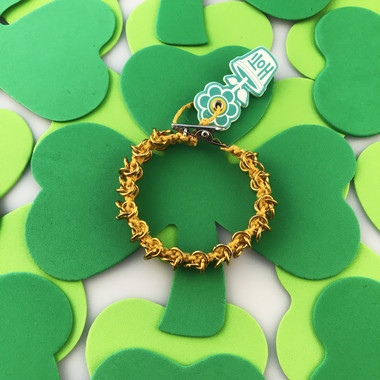HOTI Hemp Handmade Yellow Gold Metal Chain Link Maille Ladies Womens Chainmaille Linked Chains Bracelet Made in Canada Hand Crafted Made in Toronto Made in Ontario Celtic Medieval Valentine Halloween Clip-It 420 Marijuana Cannabis Alligator Clip Clasp Roach Clip Rock Toronto Ontario Canada