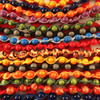 HOTI Hemp Handmade Navy Blue Wood Bead Green Purple Light Blue Yellow Orange Red Black Blue Hemp Beaded Mens Men's Unisex Twisted Spiral Knotted Necklace Collection Single Strand Beads Hand Crafted Made in Toronto Made in Ontario Made in Canada Toronto Ontario Canada Canadian Made
