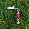 HOTI Hemp Handmade Purple Agate Stone Skull Star Metal Bead Semi Precious Antique Silver Roach Clip Dangling Metal Women's Ladies Woman Her Unisex Men's Man Charm Handcrafted Made in Toronto Made in Ontario Made in Canada Charming Collection Marijuana Weed 420 Alligator Clips Mary Jane Pot Cannabis Clip It Dope Gifts Stoner Gift Toronto Ontario Canada Canadian