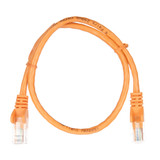 0.5m RJ45 Cat5e Cable Orange Snagless
