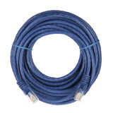 10m RJ45 Cat5e Cable Blue Snagless