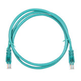 1m RJ45 Cat5e Cable Green Snagless