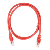 1m RJ45 Cat5e Cable Red Snagless