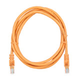 2m RJ45 Cat5e Cable Orange Snagless