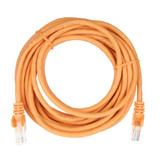 5m RJ45 Cat5e Cable Orange Snagless