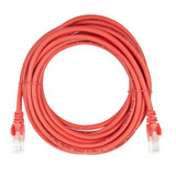 5m RJ45 Cat5e Cable Red Snagless