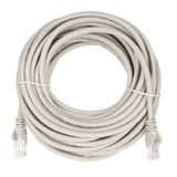 10m RJ45 Cat5e Cable Grey Snagless