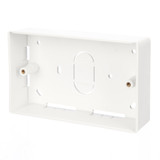 AV Double Gang Back Box 32mm