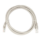2m RJ45 Cat5e Cable Grey Snagless