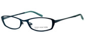 Jones New York Designer Eyeglasses J122 Teal :: Rx Progressive