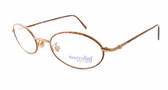 Marcolin Designer Eyeglasses 6454 in Bronze 48 mm :: Rx Progressive