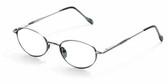 Reptile Designer Eyeglasses Gecko in Pewter :: Rx Progressive