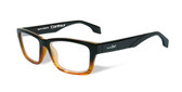 Wiley-X Contour Optical Eyeglass Collection in Gloss-Black-Brown-Stripe (WSCON05) :: Rx Progressive