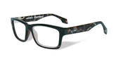 Wiley-X Contour Optical Eyeglass Collection in Gloss-Demi-Black (WSCON06) :: Rx Progressive