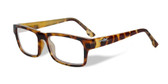 Wiley-X Profile Optical Eyeglass Collection in Gloss-Demi-Brown (WSPRF04) :: Rx Progressive