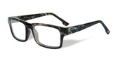 Wiley-X Profile Optical Eyeglass Collection in Gloss-Demi-Green (WSPRF05) :: Rx Progressive