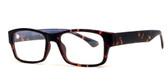 Soho 1019 in Matte Tortoise Designer Eyeglasses :: Rx Bi-Focal