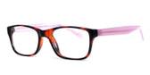 Soho 122 in Tortoise-Pink Designer Eyeglasses :: Rx Bi-Focal