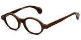 Calabria Designer Eyeglasses Calabria 856 Light Brown :: Rx Bi-Focal