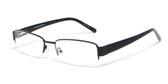 Calabria Expressions Designer Eyeglasses 1084 in Black :: Rx Bi-Focal