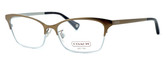 Coach Designer Eyeglasses 'Terri' 5041-9002 :: Rx Bi-Focal