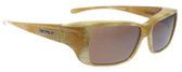 Jonathan Paul® Fitovers Eyewear Small Nowie in Ivory-Tusk & Amber NW003A
