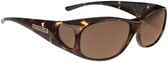 Jonathan Paul® Fitovers Eyewear Medium Element in Tortoise & Amber EM007A