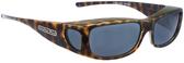 Jonathan Paul® Fitovers Eyewear Medium Sabre in Cheetah & Gray SB003