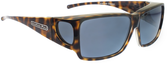 Jonathan Paul® Fitovers Eyewear Large Orion in Cheetah & Gray ON003