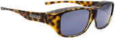 Jonathan Paul® Fitovers Eyewear Large Quamby in Cheetah & Gray QL003