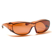 6000DR Over Glasses UV Protection in Copper