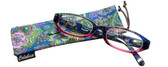 Calabria 4377 Reading Glasses w/ Matching Case