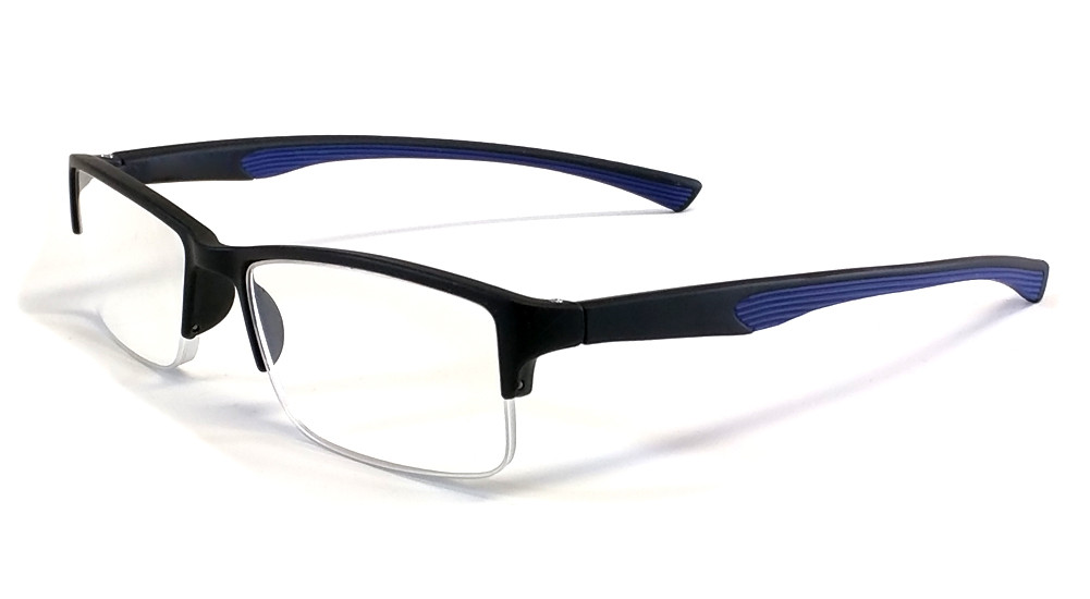 2bd120c9651b Calabria 6904 Flexie Semi-Rimless Reading Glasses - Low Vision Glasses