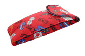 Large Casino Styled Soft Eyeglass Case 4168