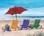 Beach Chairs & Umbrella 240-75b-2 Artist Micro Fiber Cleaning Cloth