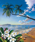Hawaiian Beach 240-75b-4 Artist Micro Fiber Cleaning Cloth